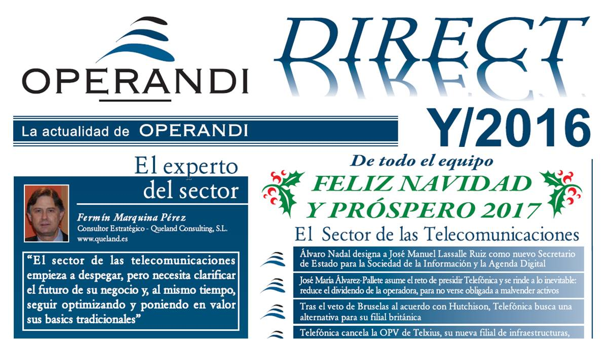 Newsletter Operandi 2016